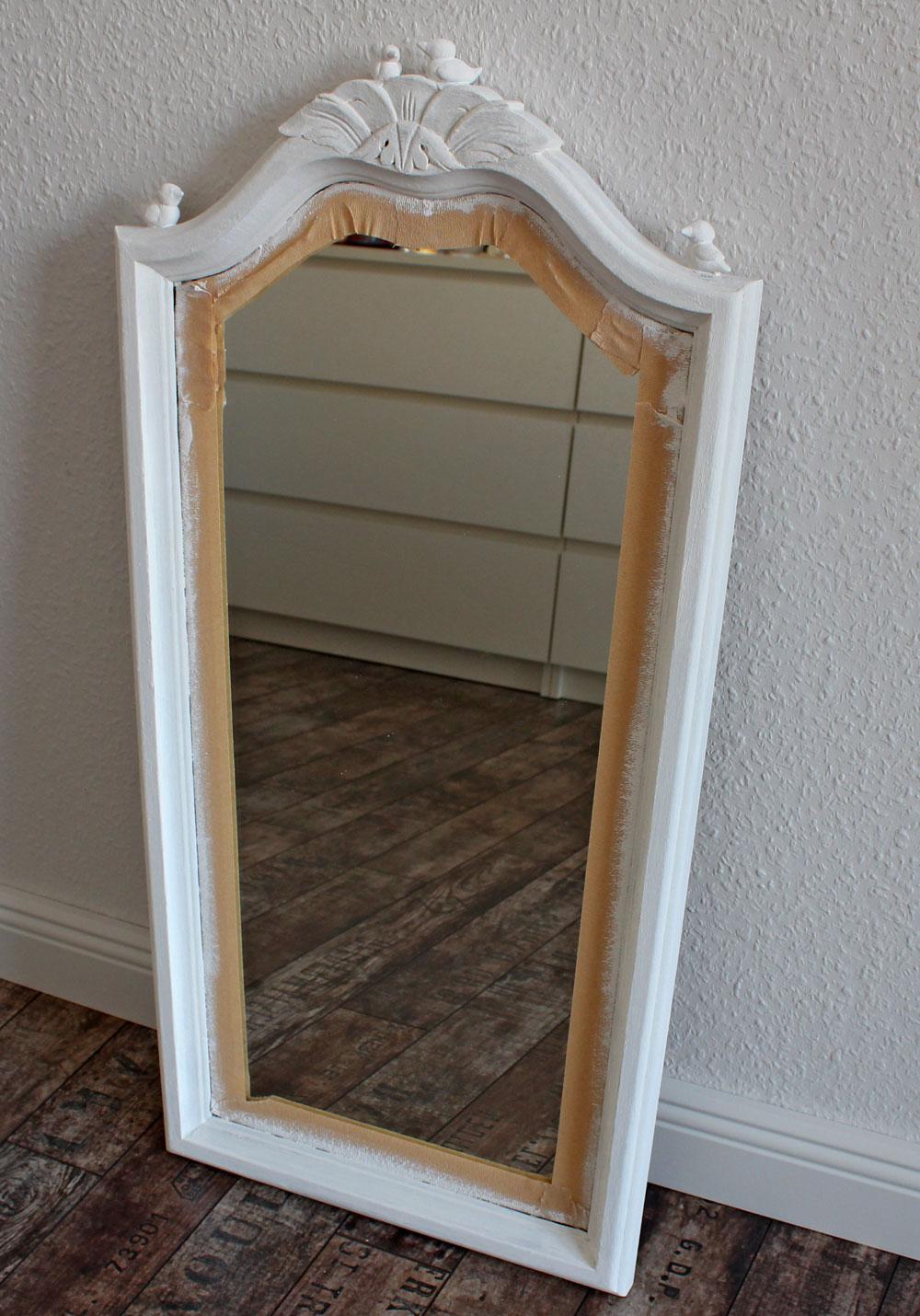 spiegel wei er rahmen wei er spiegel mit rahmen. Black Bedroom Furniture Sets. Home Design Ideas