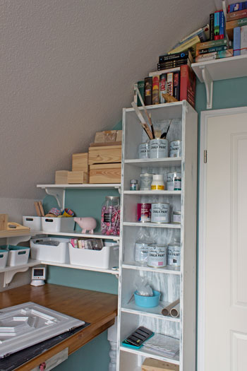 Shabby Chic IKEA Billy gesamt 2