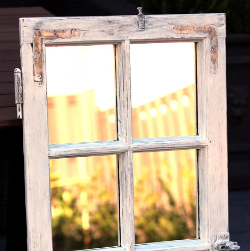 shabby chic spiegel. Black Bedroom Furniture Sets. Home Design Ideas