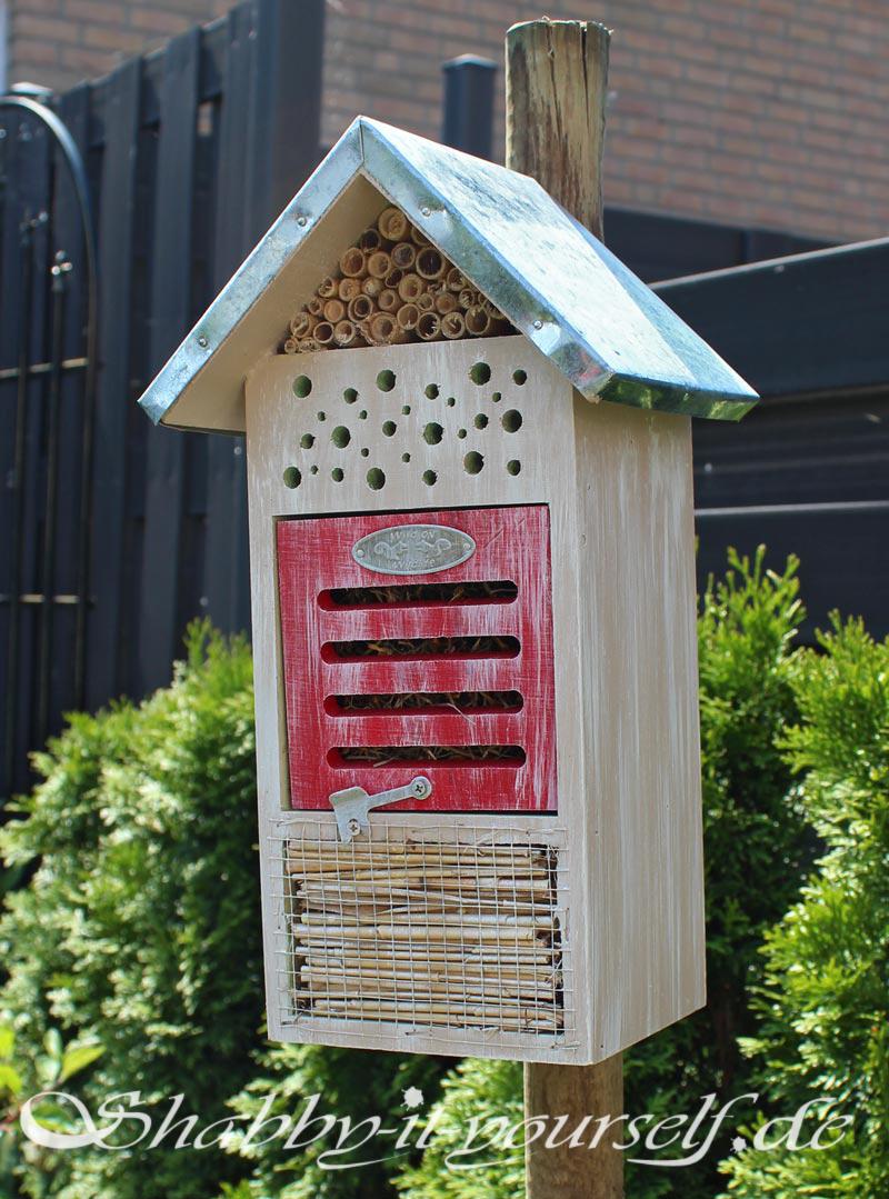 Shabby Chic Insektenhotel 4