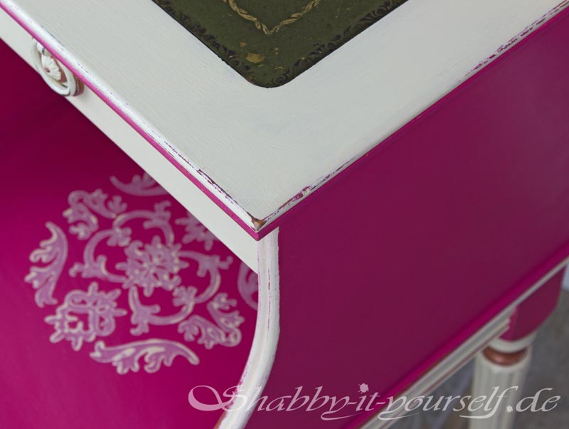 Shabby Chic Nachttisch 17