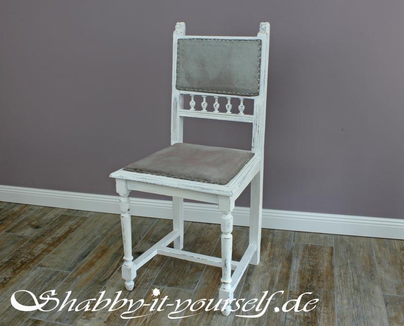 stoffe mit kreidefarbe anmalen. Black Bedroom Furniture Sets. Home Design Ideas