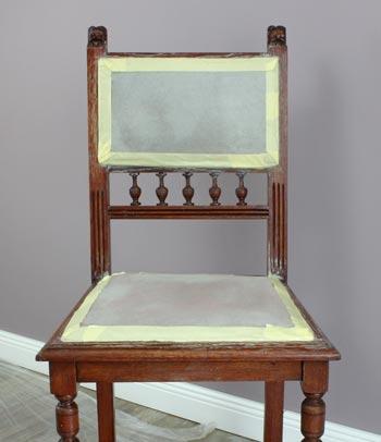 Stühle Streichen shabby chic stuhl frederic inkl test stoffe mit kreidefarbe anmalen