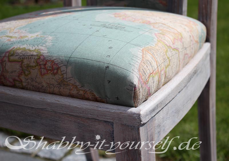 Shabby Chic Polsterstuhl World 42
