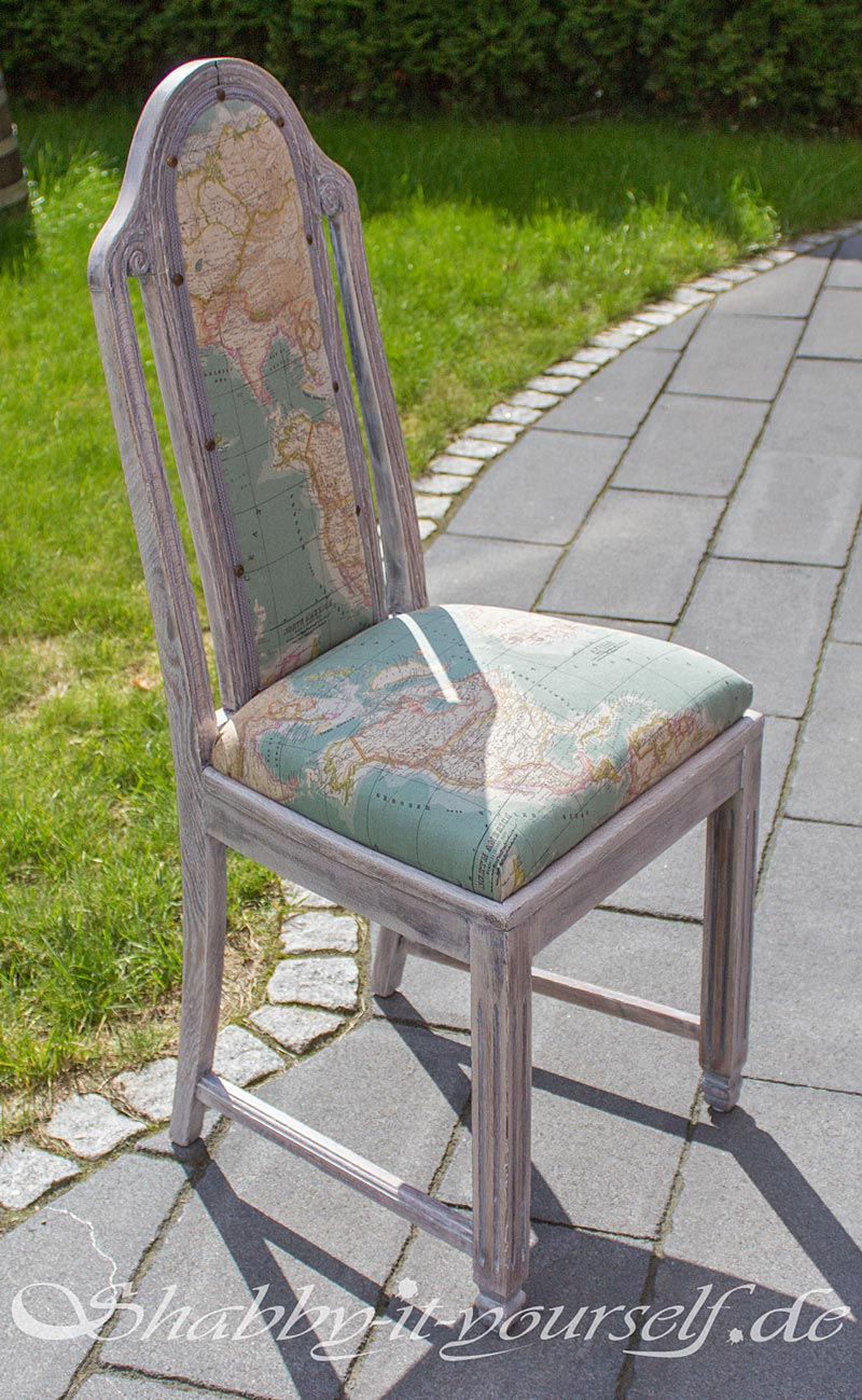 Shabby Chic Polsterstuhl World 43