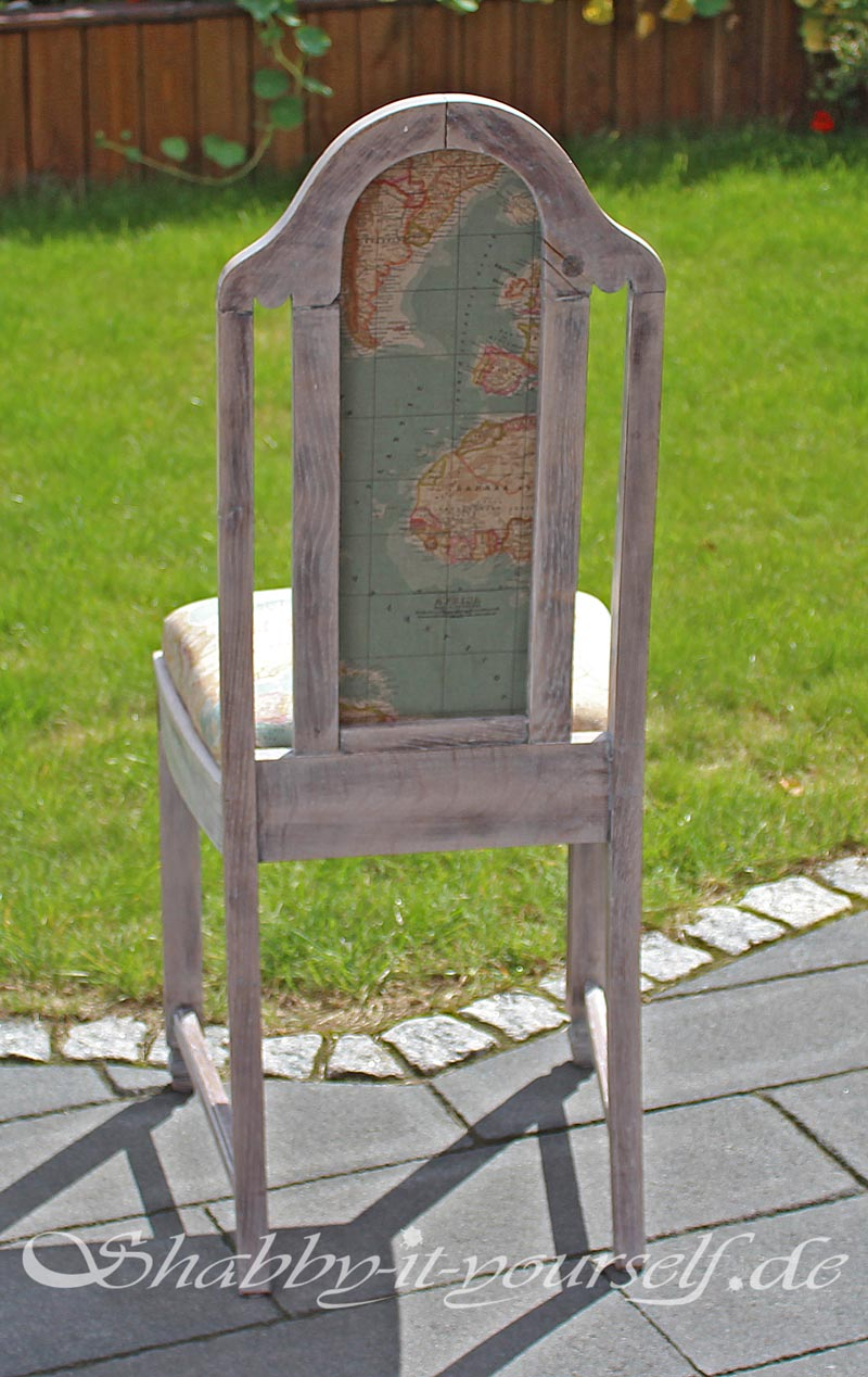 Shabby Chic Polsterstuhl World 44
