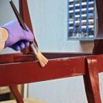 Shabby Chic Polster Sessel Violetta 10