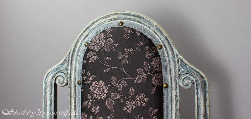 polsterstuhl bl mchen welchen stoff zum polstern nehmen. Black Bedroom Furniture Sets. Home Design Ideas