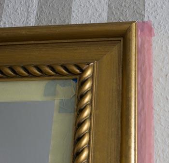 so macht ihr einen einfachen ikea spiegel zum vintage zauberspiegel. Black Bedroom Furniture Sets. Home Design Ideas