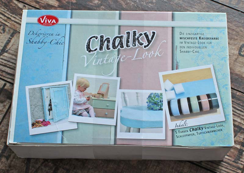 Chalky Vintage Look Set Test 1