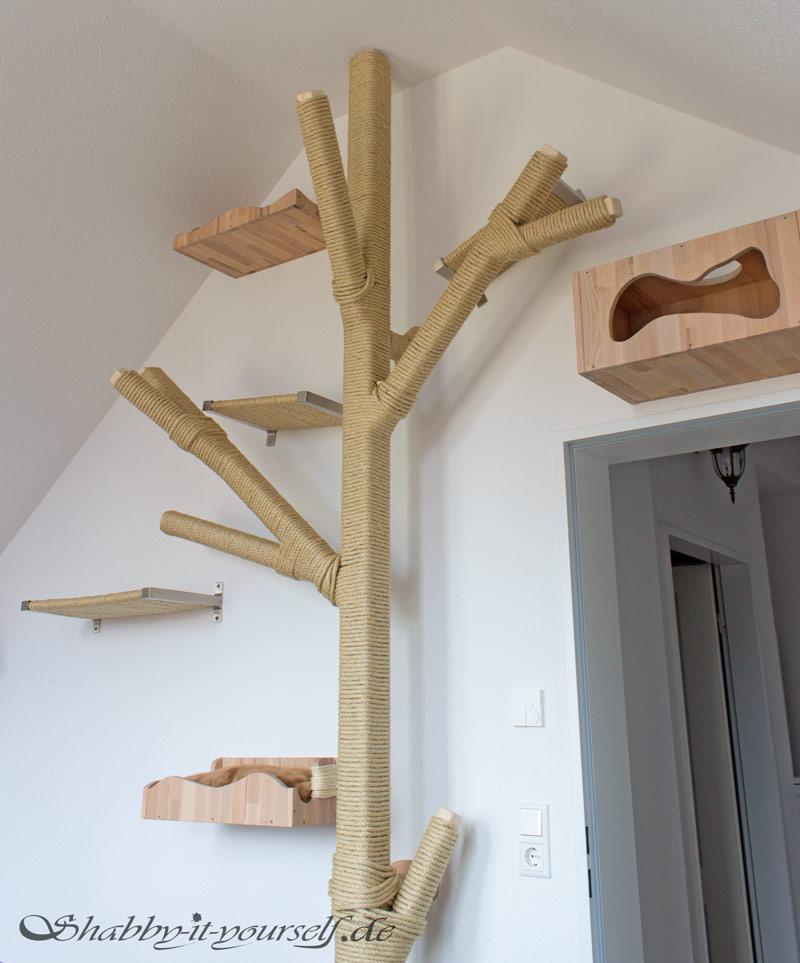 Katzen Kratzbaum Kletterwand 15