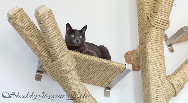 Katzen Kratzbaum Kletterwand 21