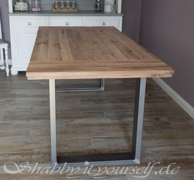 Einen Rustikalen Loft Tisch Selber Bauen So Gehts