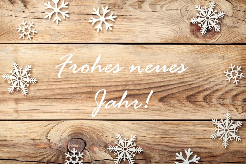Ein frohes neues Jahr Euch allen!
