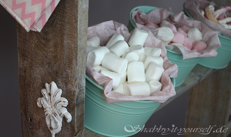 Vintage Shabby Chic Candy Bar Hochzeit Wedding 37