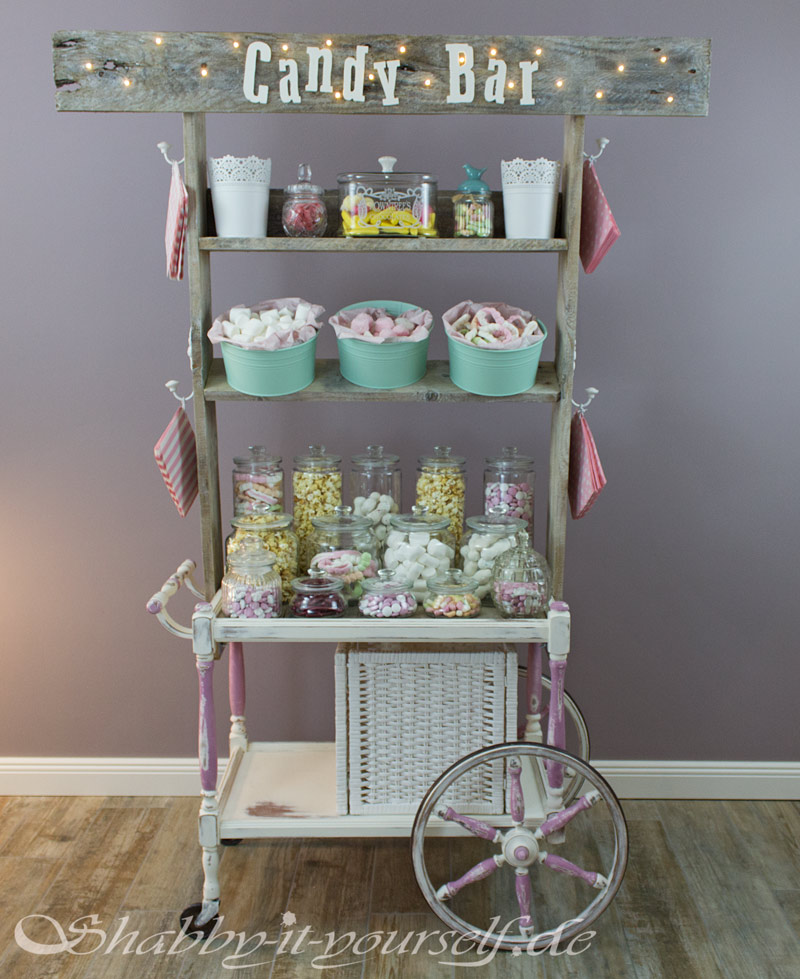 Vintage Shabby Chic Candy Bar Hochzeit Wedding 38