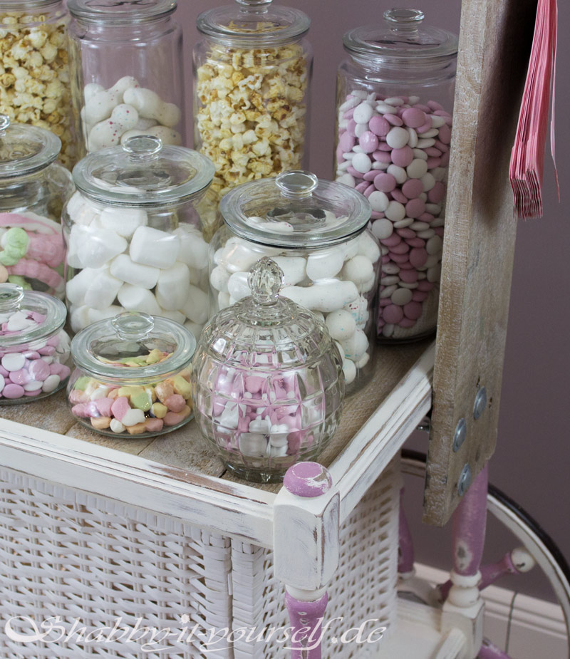 Vintage Shabby Chic Candy Bar Hochzeit Wedding 39