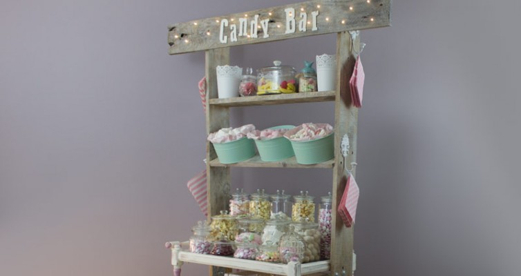 Vintage Shabby Chic Candy Bar Hochzeit Wedding 45