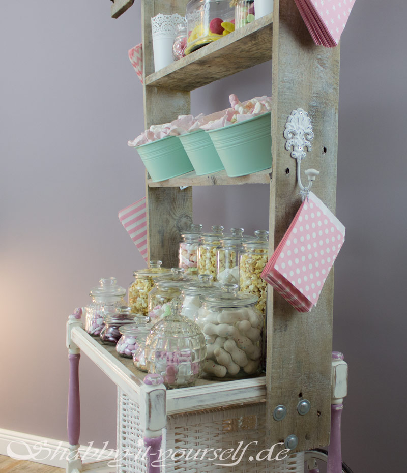 Vintage Shabby Chic Candy Bar Hochzeit Wedding 46