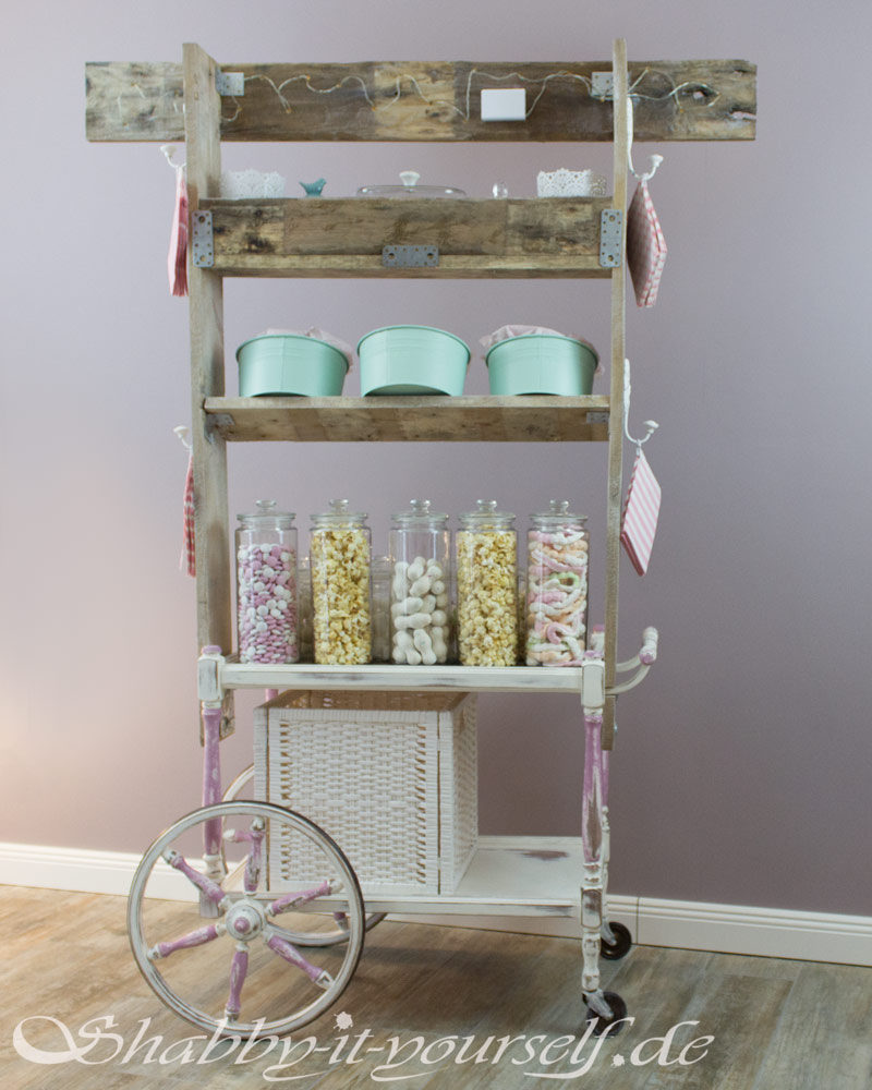 Vintage Shabby Chic Candy Bar Hochzeit Wedding 47