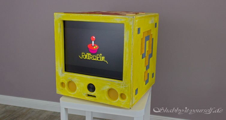 RetroPie Custom Build Gaming Console Vintage Style 47a