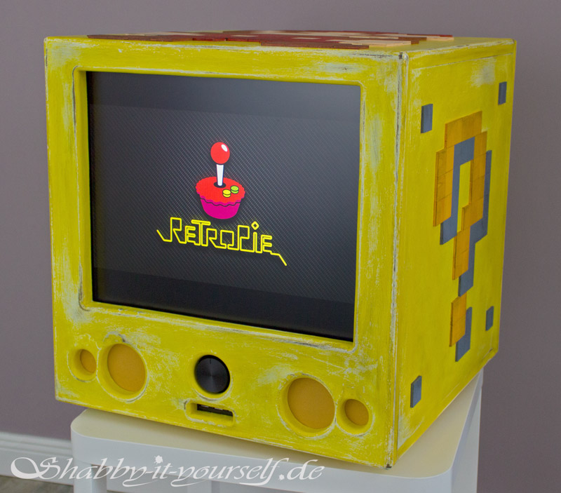 RetroPie Custom Build Gaming Console Vintage Style 47b