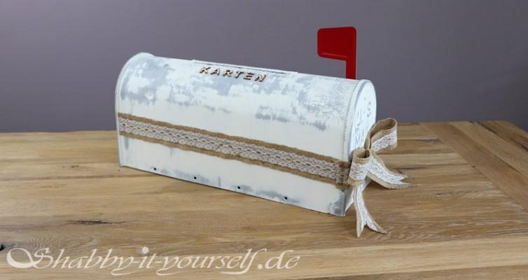 Mailbox Wedding Hochzeit Karten Box 18