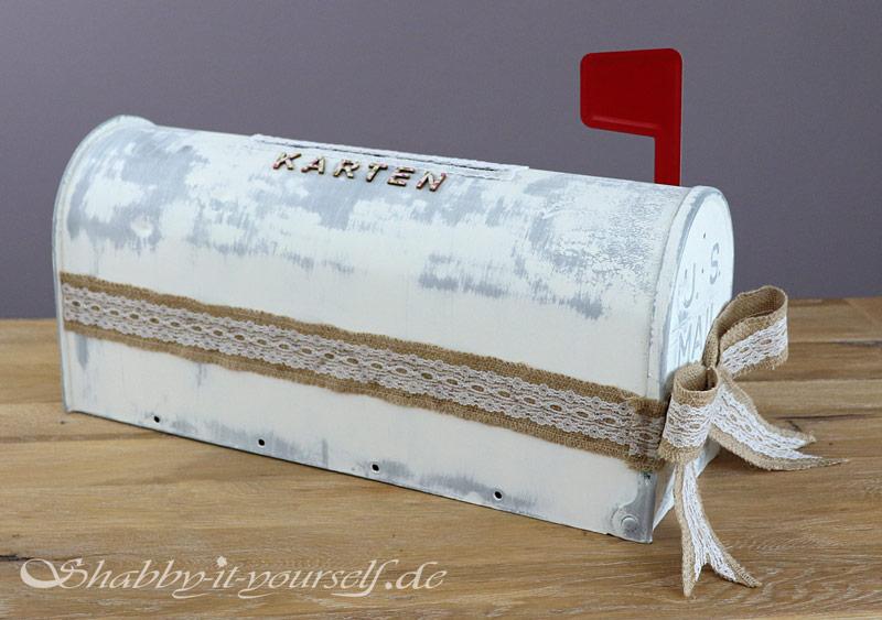 Mailbox Wedding Hochzeit Karten Box 18b