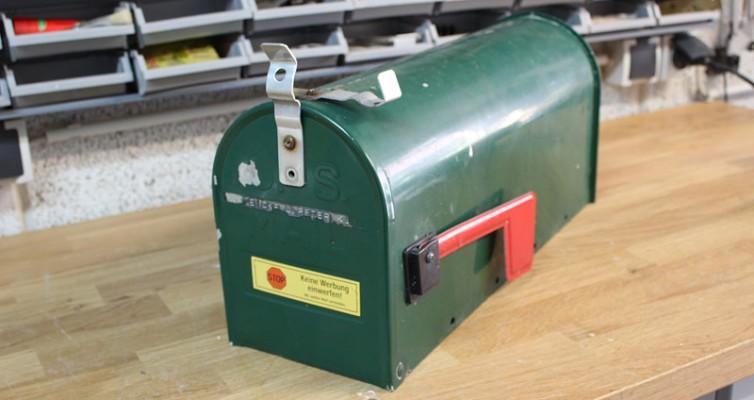 Mailbox Wedding Hochzeit Karten Box 1a
