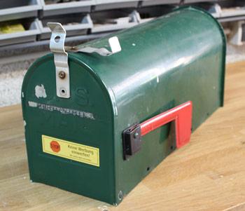 Mailbox Wedding Hochzeit Karten Box 1b