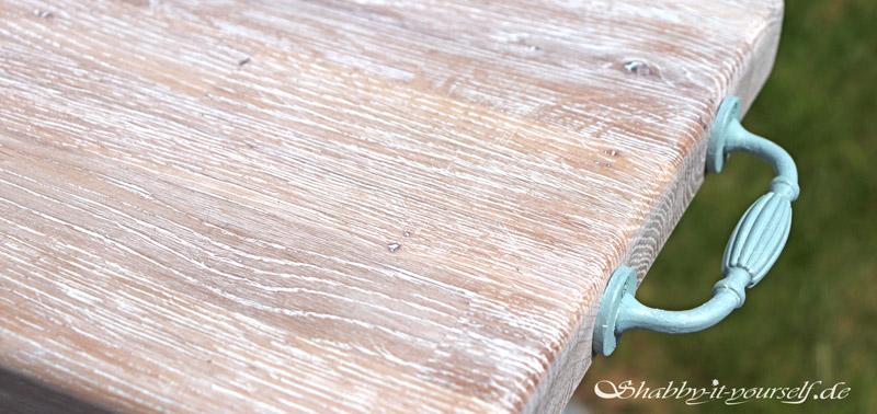 White Wash So Geht S Gekalkte Oberflachen Auf Holz Und Kreidefarbe
