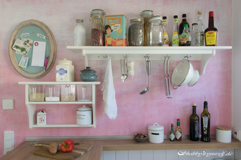 Shabby Chic Kitchen Makeover Finished 1