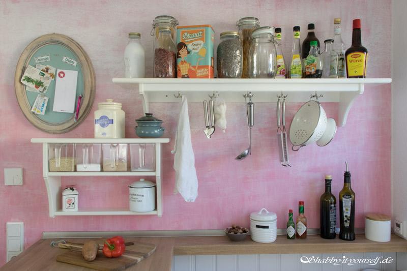 Küche selber bauen - Shabby Chic Kitchen Makeover Finished 1