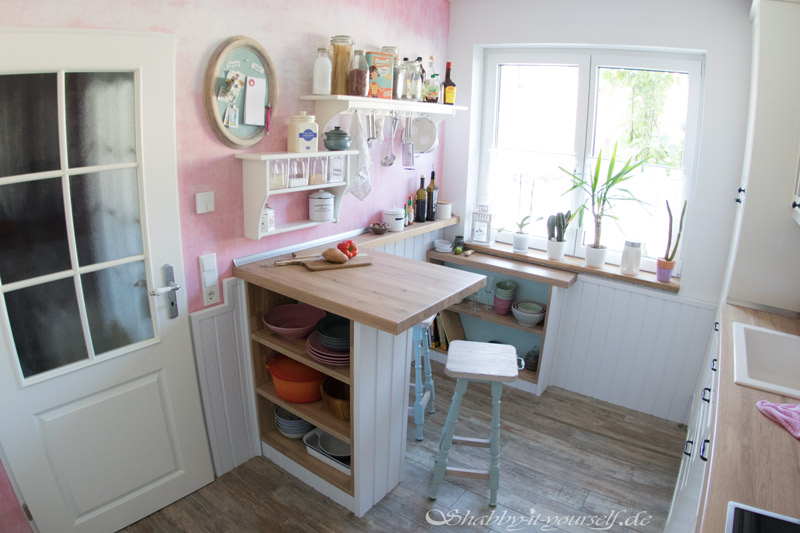 Shabby Chic Kitchen Makeover Finished 11