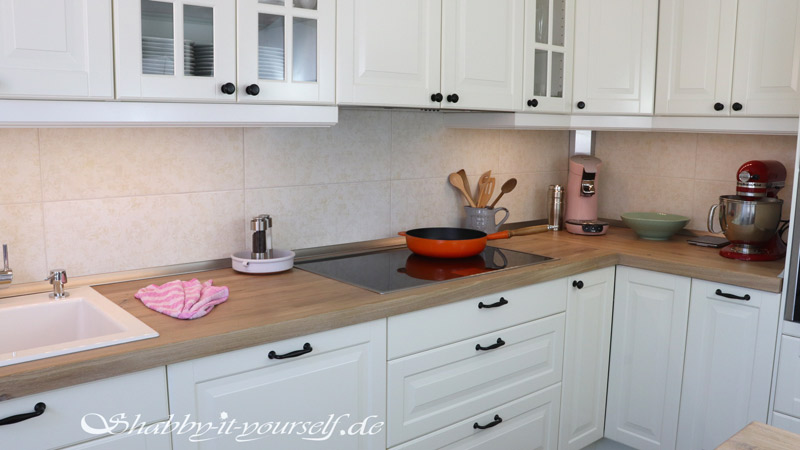 Shabby Chic Kitchen Makeover Finished 12