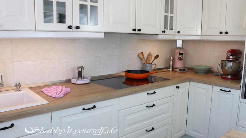 Küche selber bauen - Shabby Chic Kitchen Makeover Finished 12