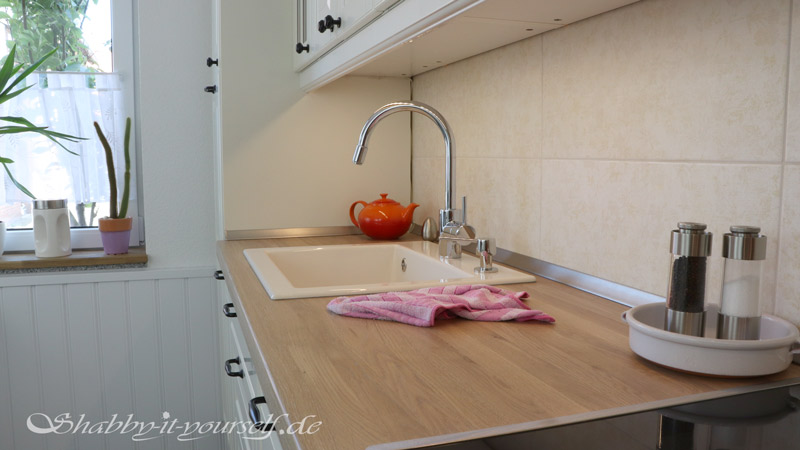 Küche selber bauen - Shabby Chic Kitchen Makeover Finished 13