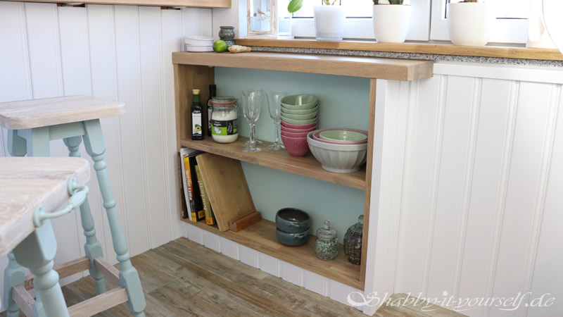 Shabby Chic Kitchen Makeover Finished 14
