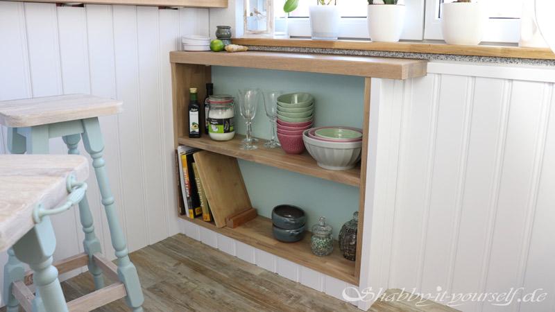 Küche selber bauen - Shabby Chic Kitchen Makeover Finished 14