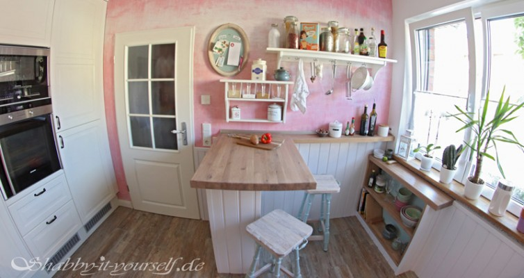 Shabby Chic Kitchen Makeover Finished 15
