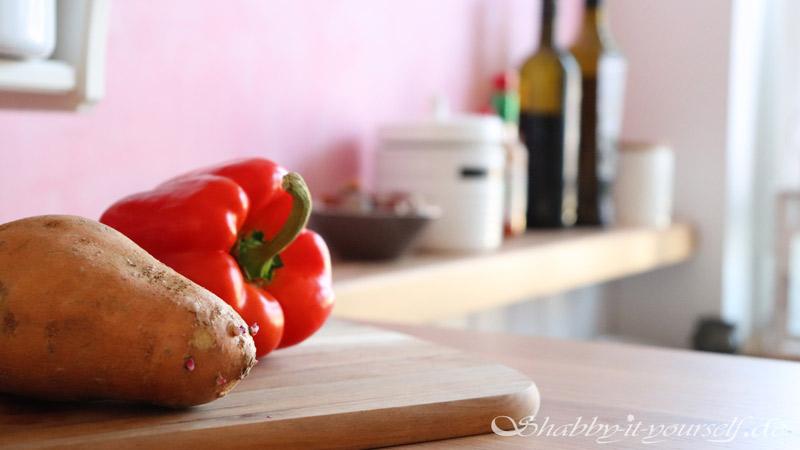 Küche selber bauen - Shabby Chic Kitchen Makeover Finished 16