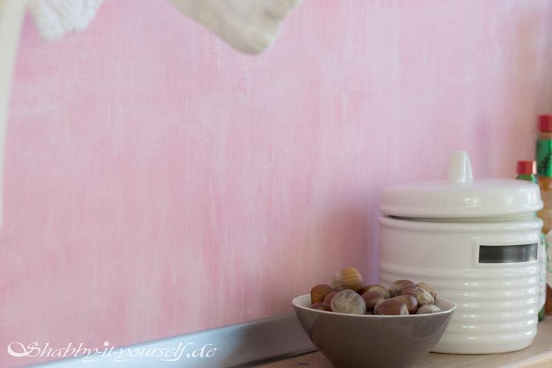Küche selber bauen - Shabby Chic Kitchen Makeover Finished 5