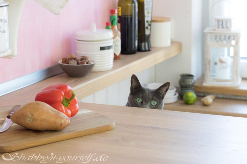 Küche selber bauen - Shabby Chic Kitchen Makeover Finished 6