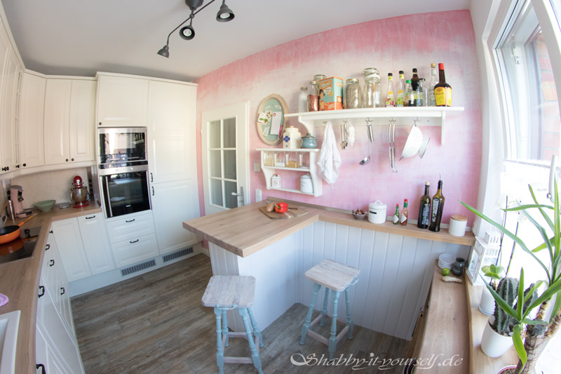 Shabby Chic Kitchen Makeover Finished 8