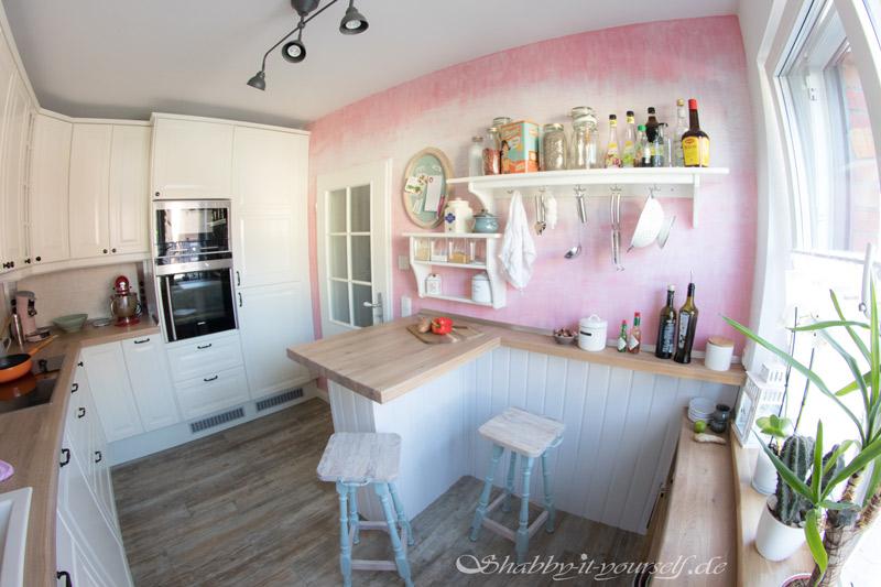 Küche selber bauen - Shabby Chic Kitchen Makeover Finished 8