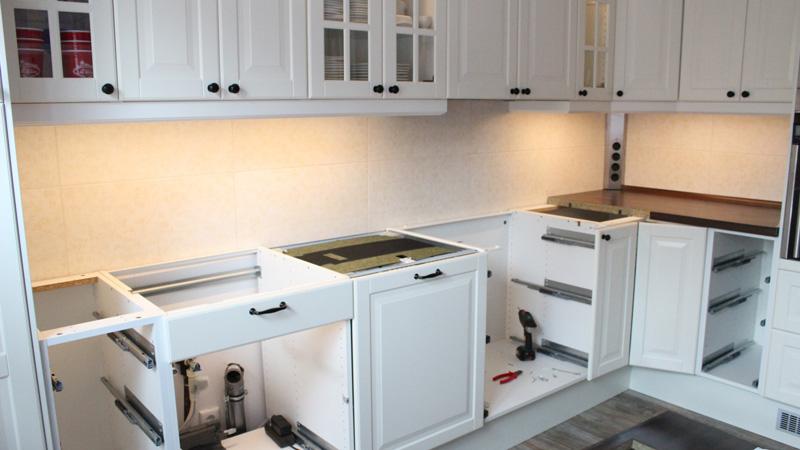 Küche selber bauen - Ich zeige Euch wie es im Shabby Look funktioniert!