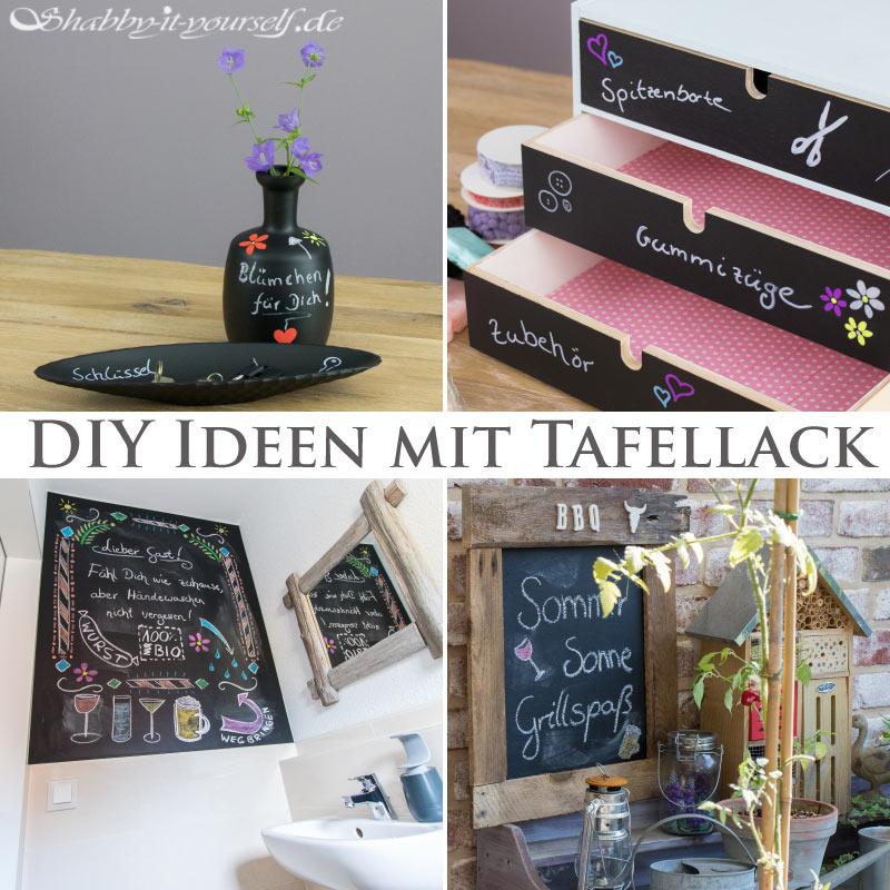 Schultafellack DIY Ideen 25
