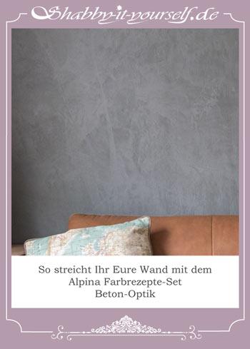 Wand In Betonoptik Streichen alpina beton optik streichen so wird es richtig gut