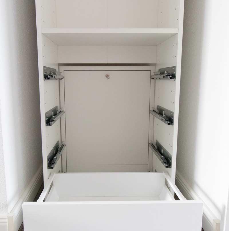 Shabby Chic DIY Einbauschrank IKEA Hack 4