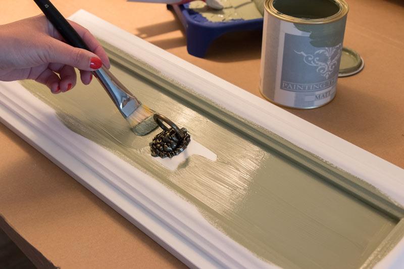 Shabby Chic DIY Einbauschrank IKEA Hack 20